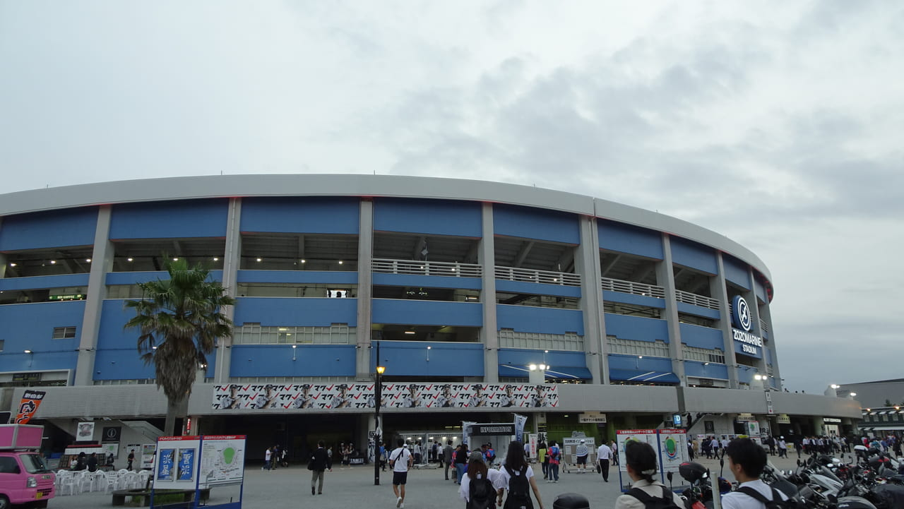 ZOZOマリンスタジアムの外観