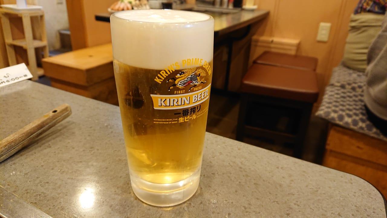 飲食店のビール写真イメージ